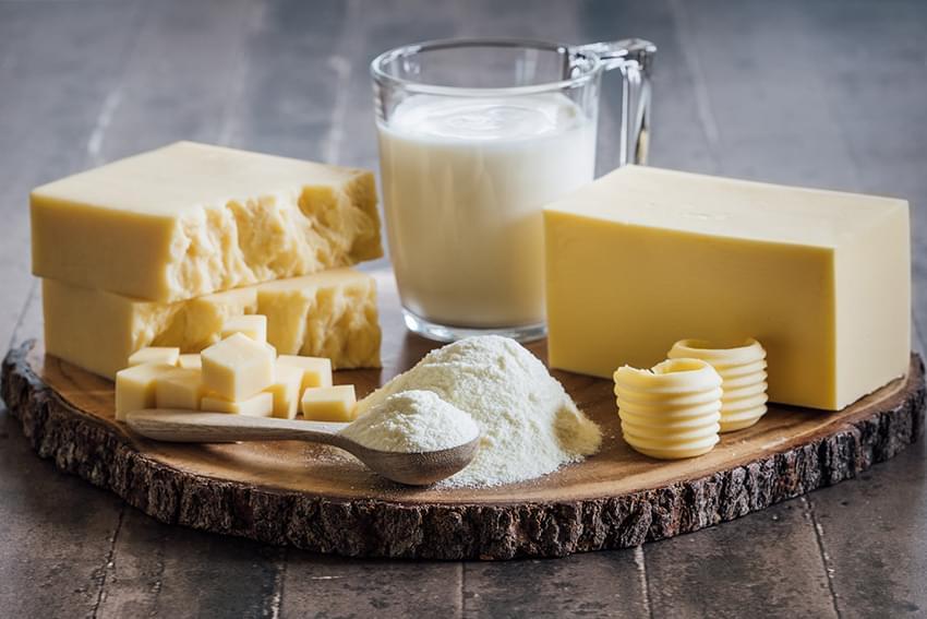Butter, Milk, Cheese